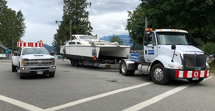Agonic Marine BC Boat Hauling Service M